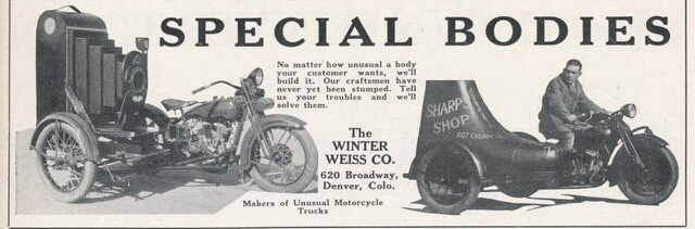 The Winter Weiss Co, fabricante de sidecars personalizados