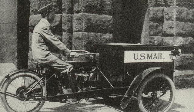 Forecar de 1915 para el Servicio de Correos de EE.UU.