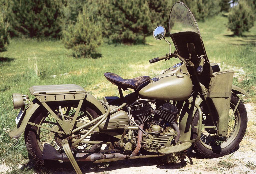 Harley-Davidson WLA - lado derecho