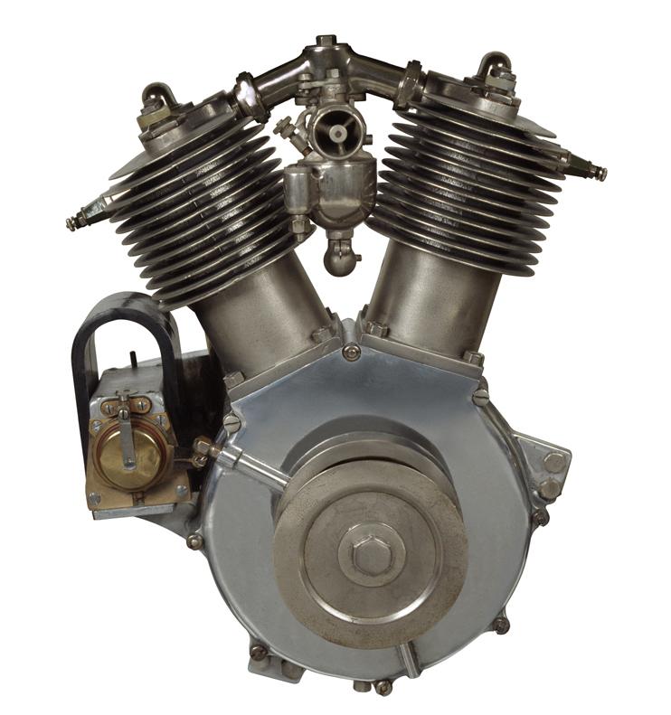 Primer motor V-Twin de Harley-Davidson - 1909