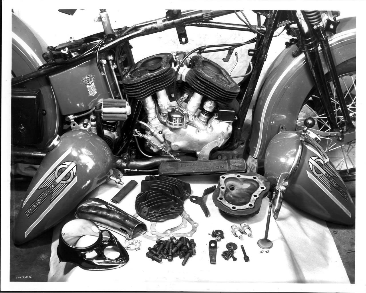 """Motor """"Flathead"""" despiezado"""