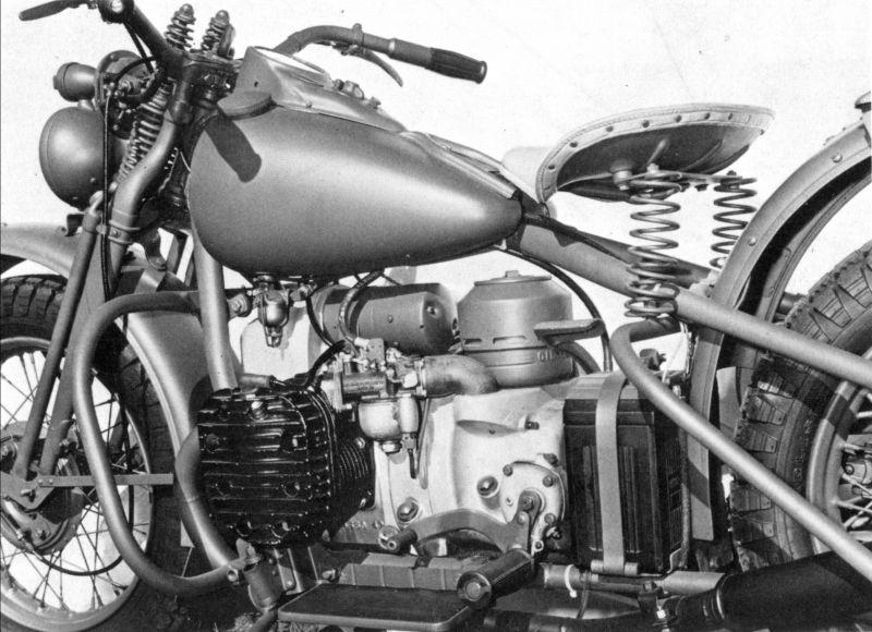 Detalle motor - vista izquierda
