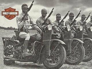 Harley-Davidson en la Segunda Guerra Mundial