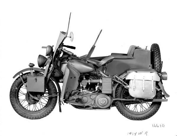 WLA con sidecar (Rusia)