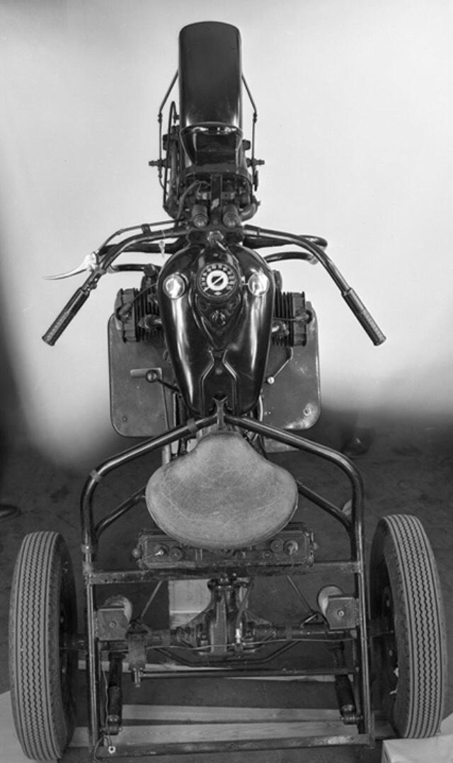 Modelo XA Servicar - Chasis vista superior
