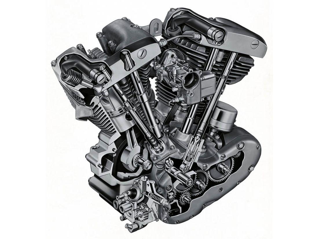 Disección de un motor OHV Shovelhead