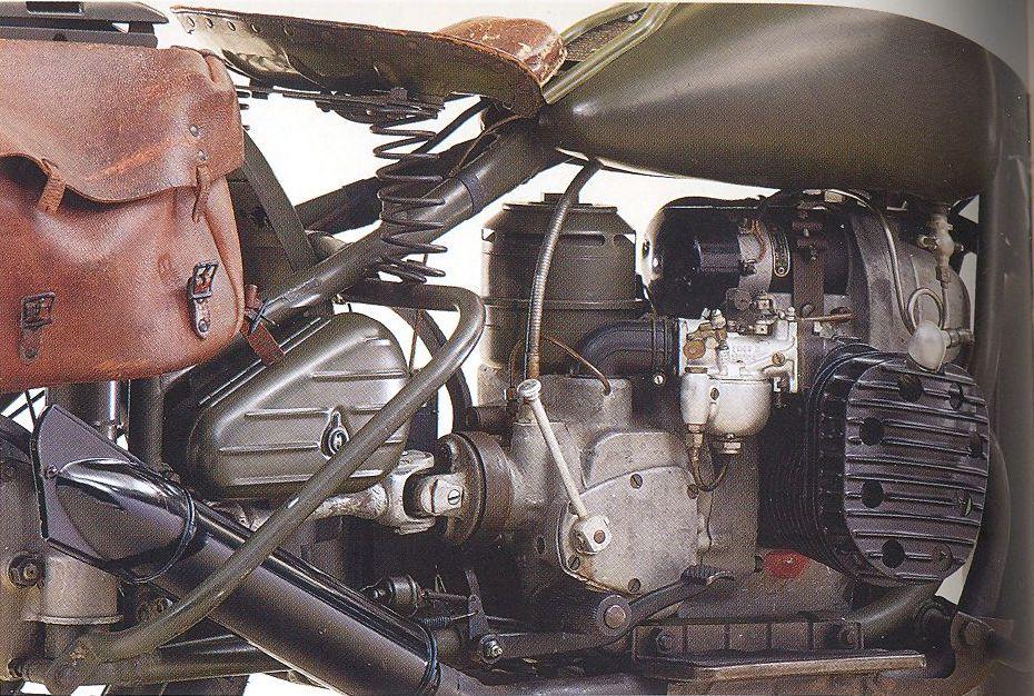 Vista motor lado derecho