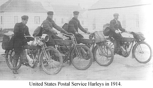 Servicio Postal en 1914