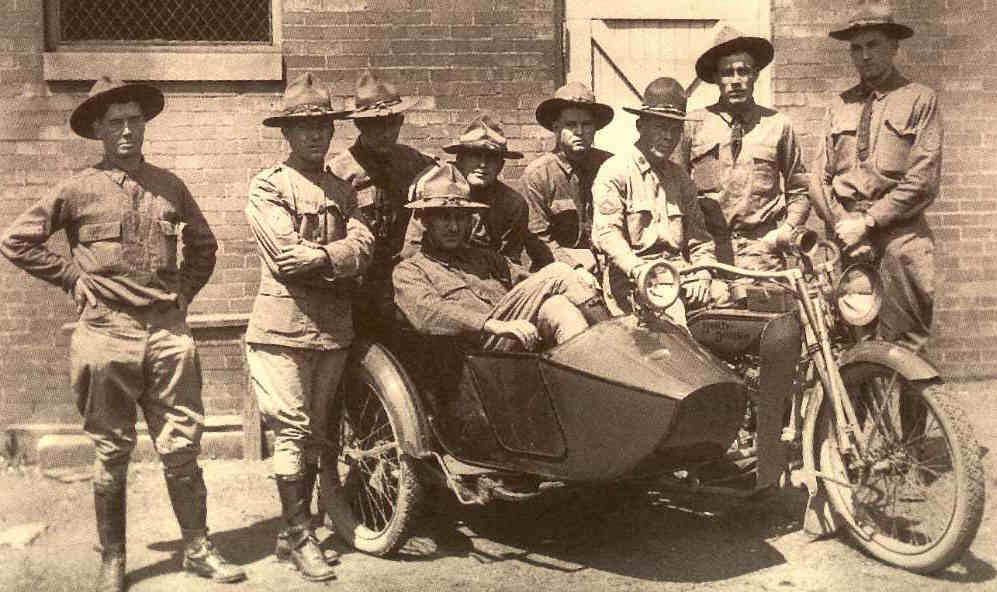 Mecánicos en la Primera Guerra Mundial