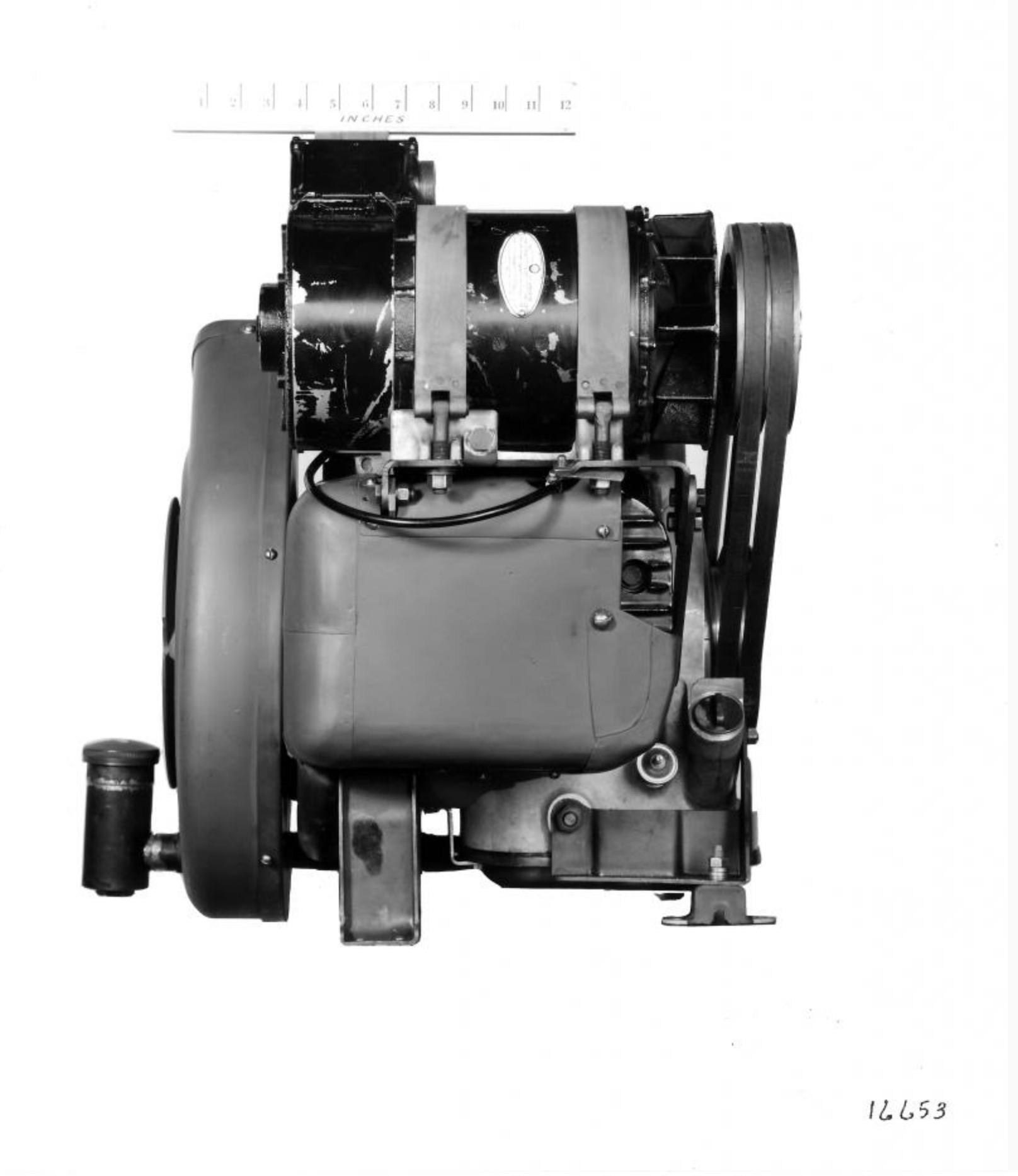 Otra vista del motor Boxer XOD de Harley-Davidson