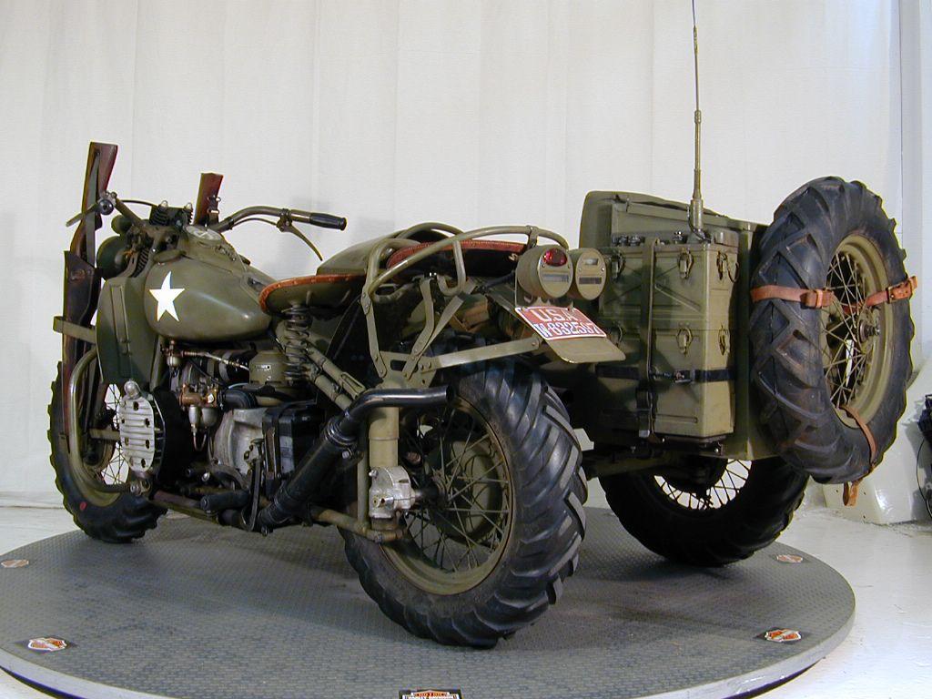 Modelo XA sidecar - reconstruido