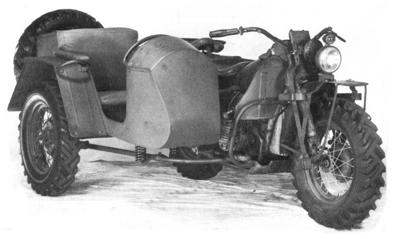 Modelo XA Sidecar - Vista derecha