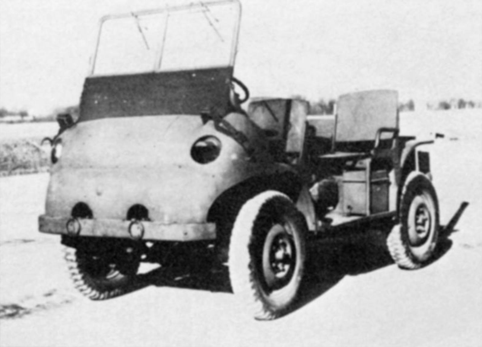 Willy WAC - Vista frontal izquierda