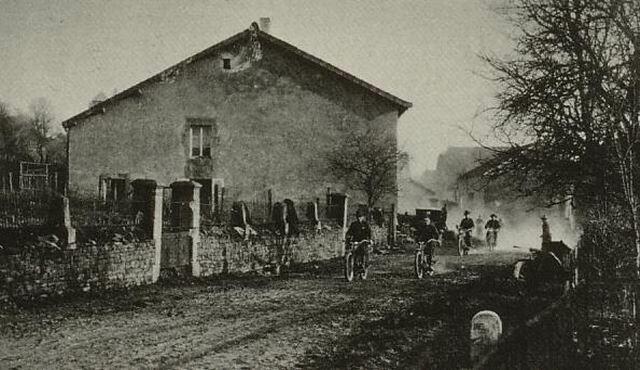 1918 - Tropas USA en Francia en la P.G.M.