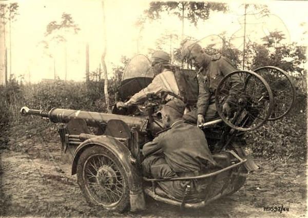 Ejército ruso - Cañón antitanque