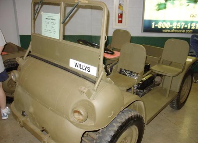 El único Willy WAC que se conserva en la actualidad