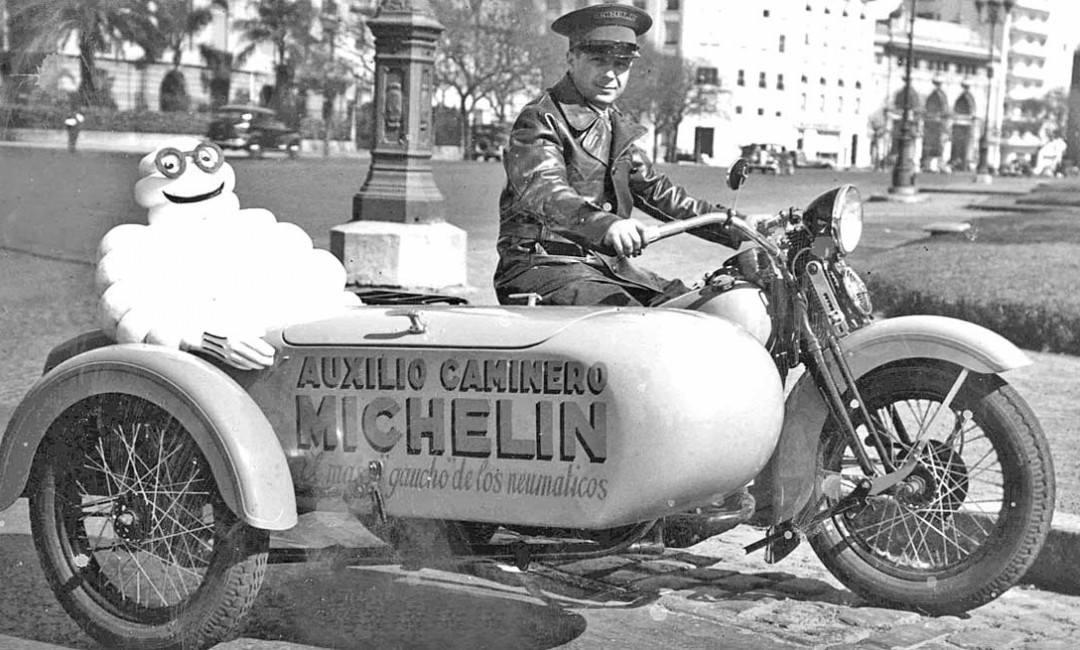 1934 - Argentina, compresor de aire de Michelin