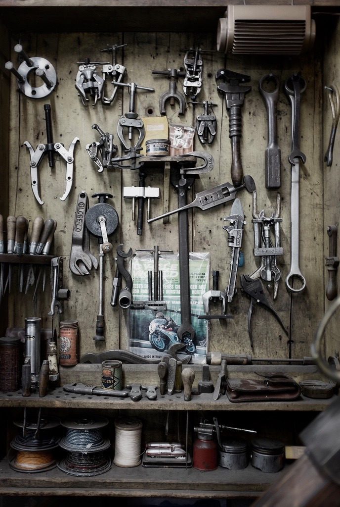 herramientas de taller