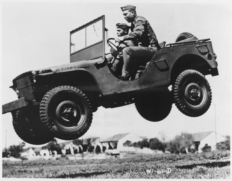 Jeep en acción
