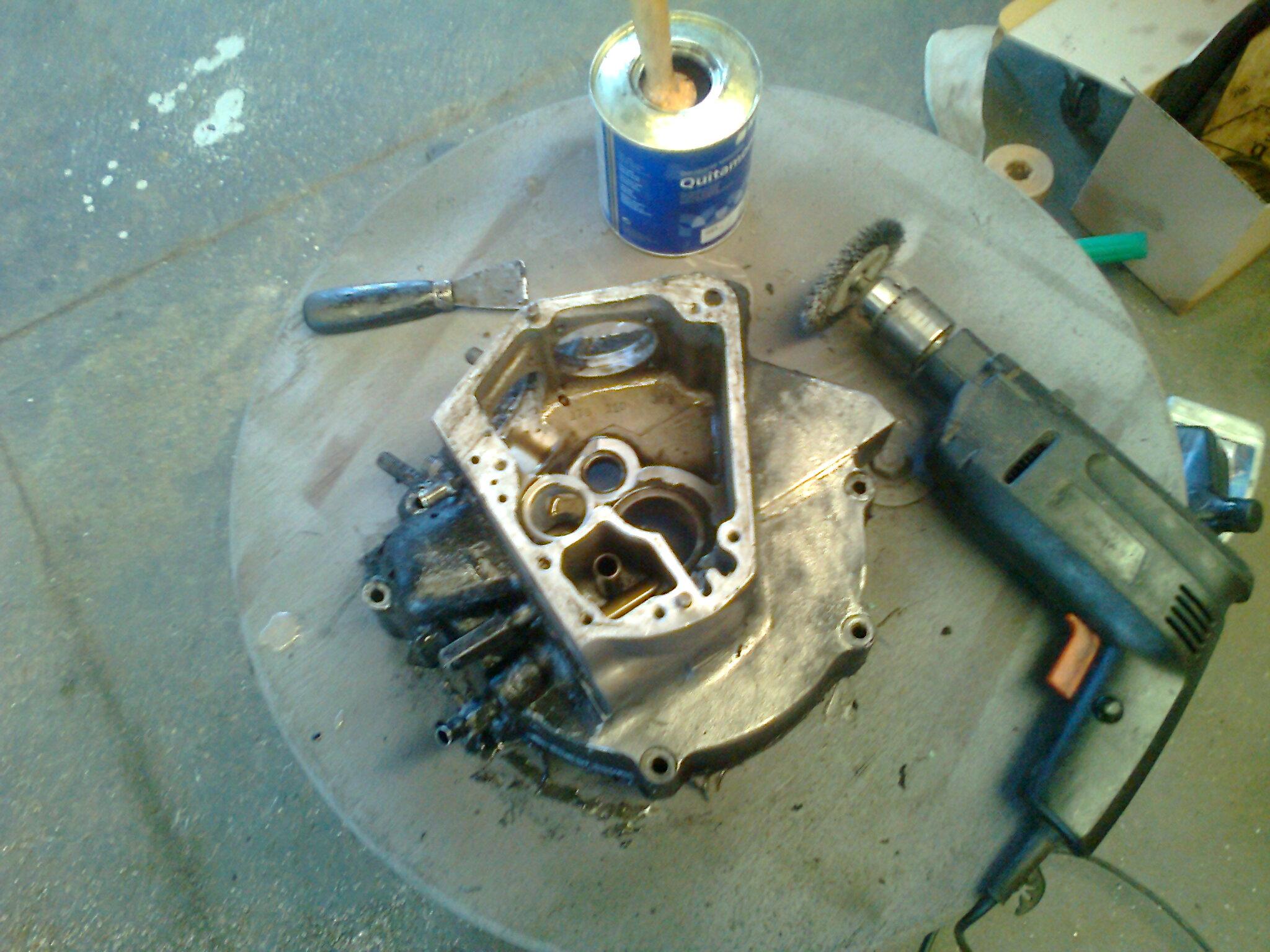 Preparación de los bloques motor