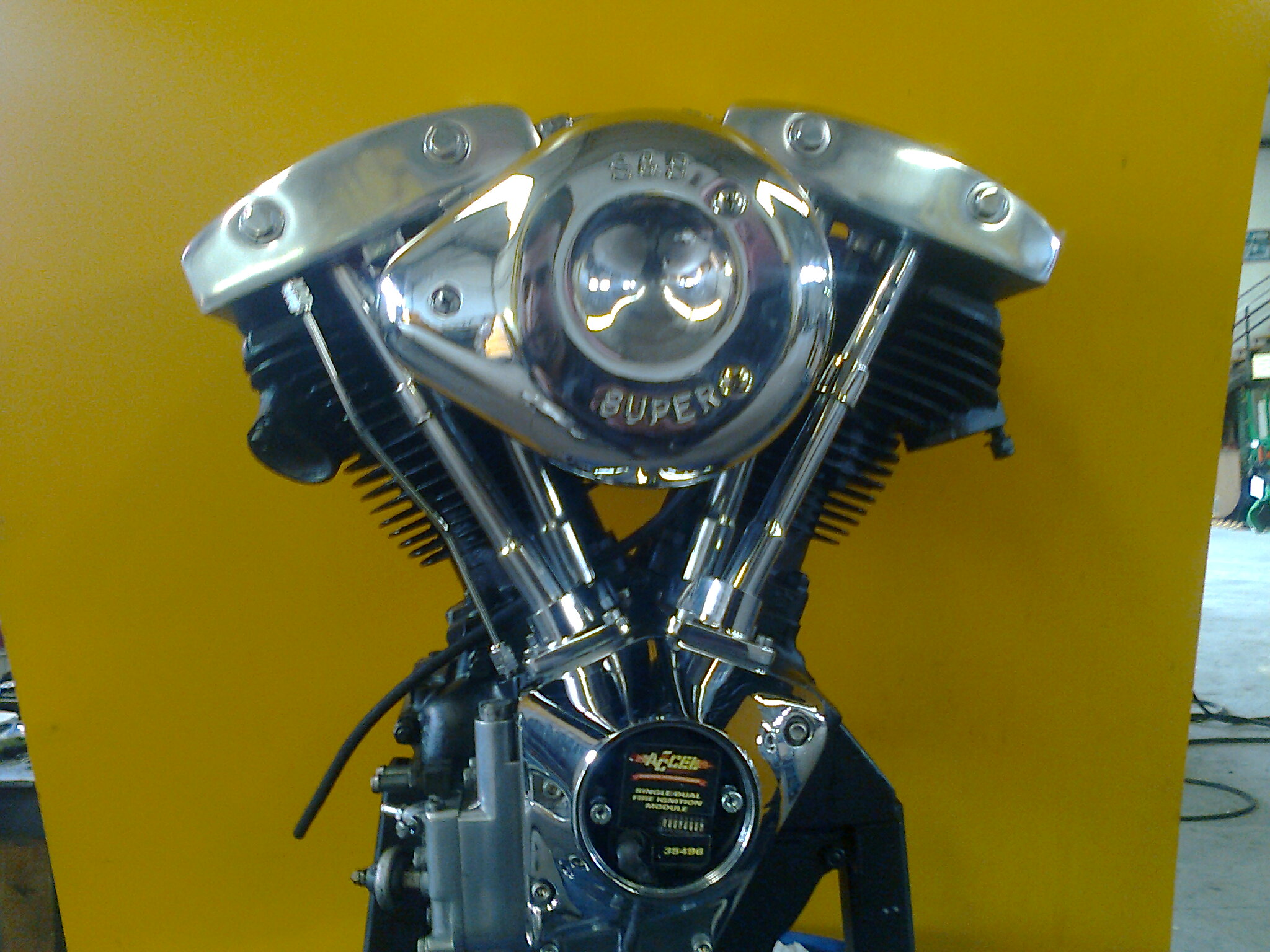 Motor terminado