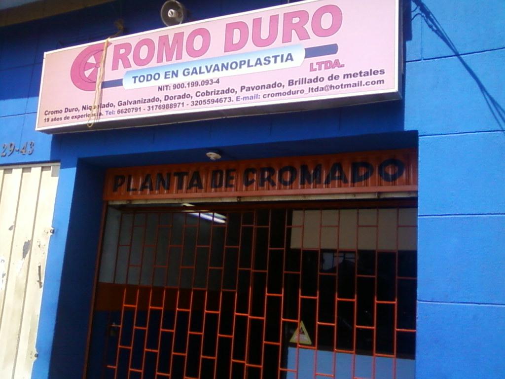 Empresa de cromados