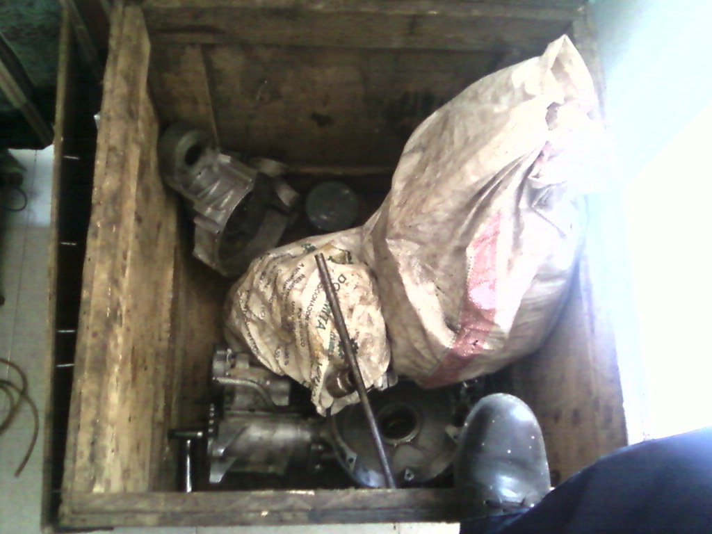 Motor en cajas
