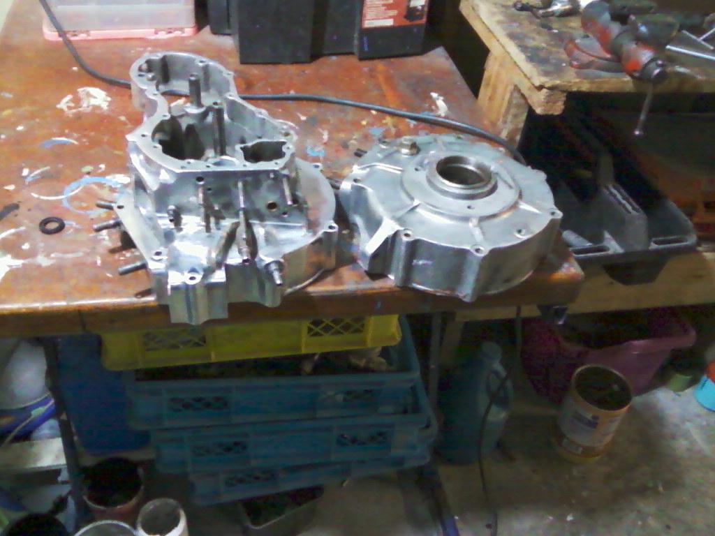 Carcasas del motor