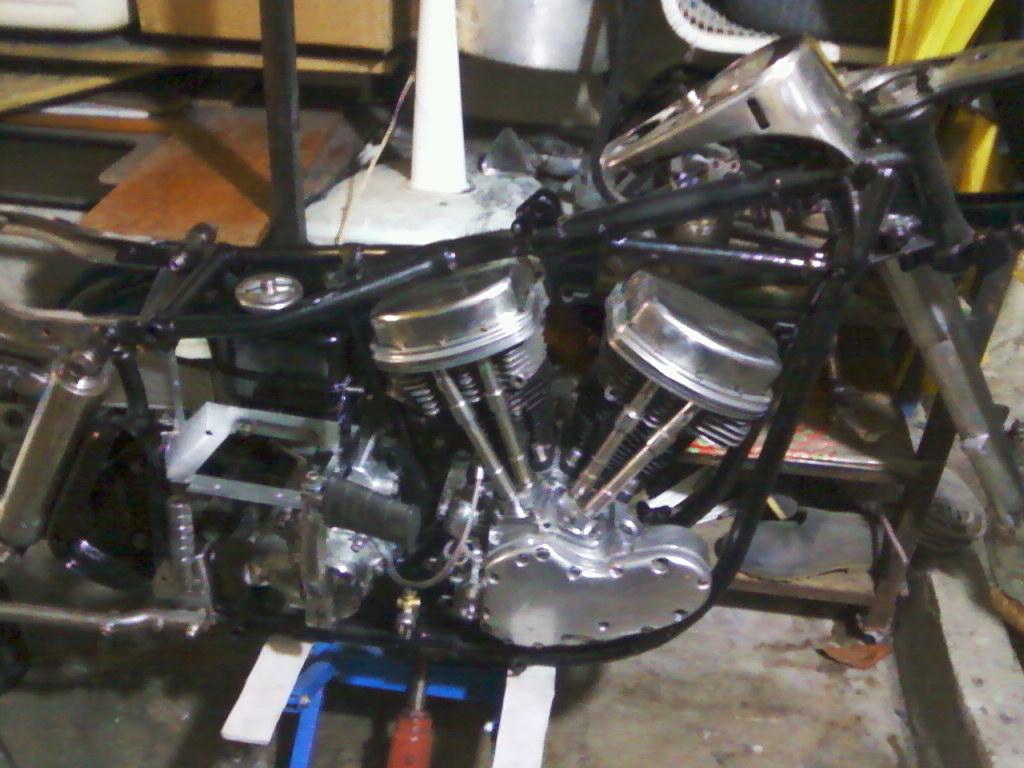 Motor vista lado derecho
