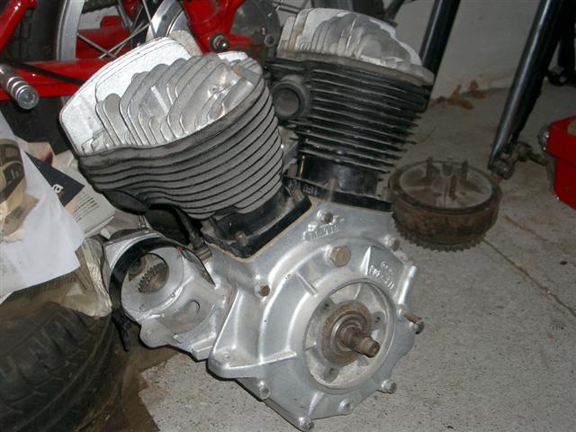 Motor fuera del chasis