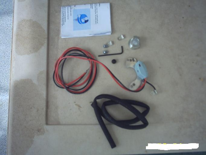 El kit de encendido electrónico