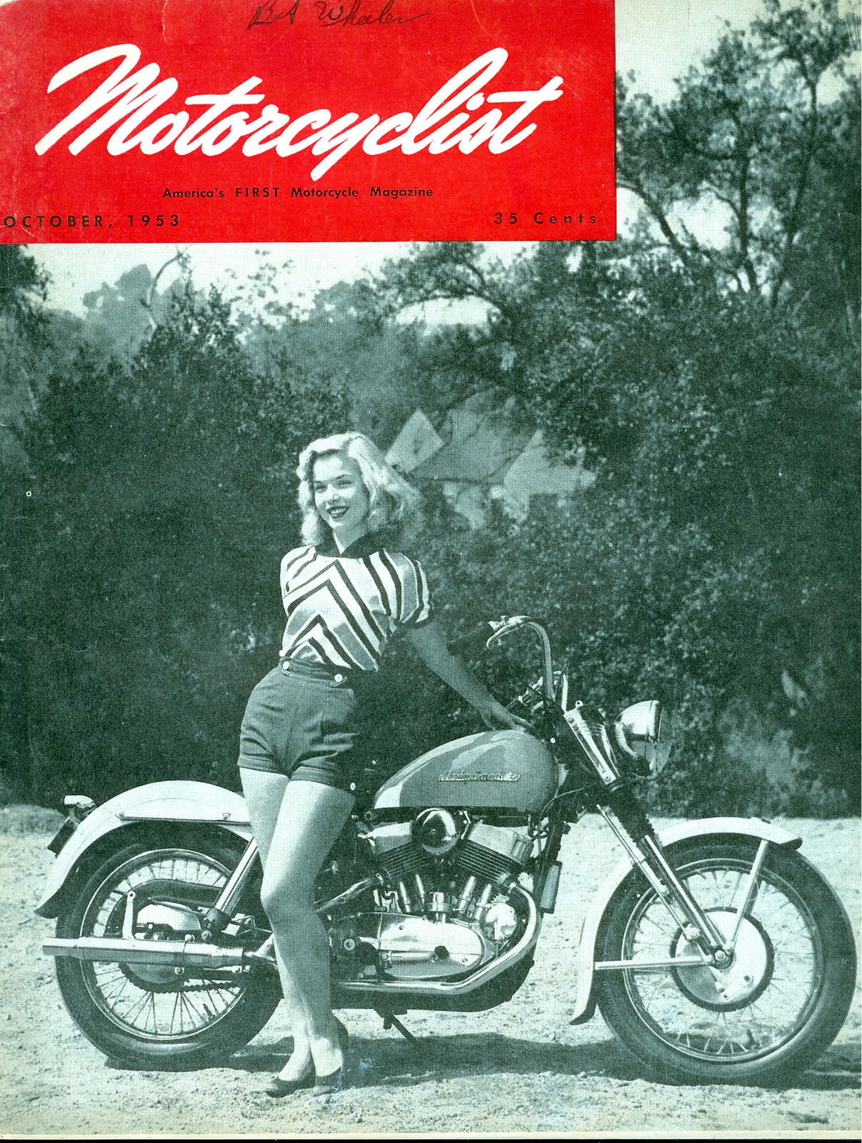 1953-oct - MotorCyclist - Modelo K