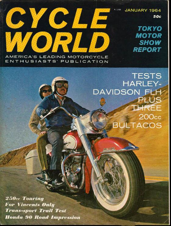 1964-Ene - Cycle - DuoGlide