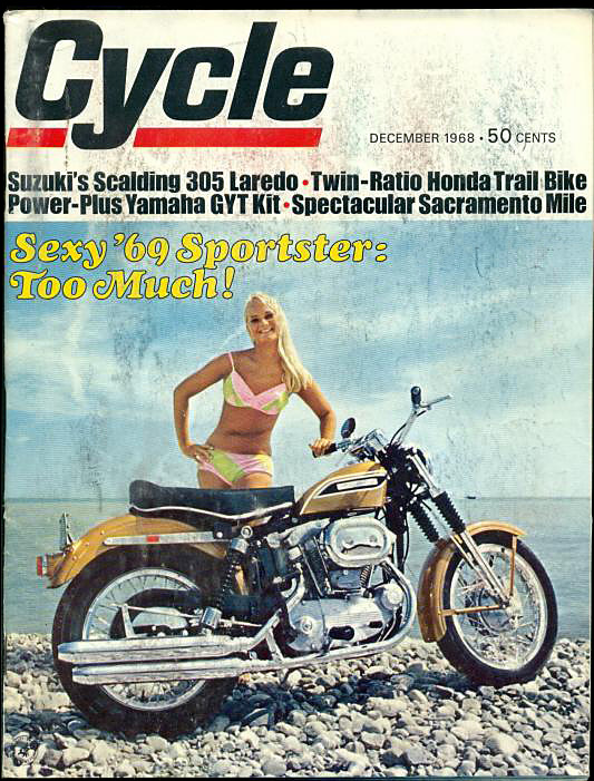 1968-dic - Cycle - Sportster 69