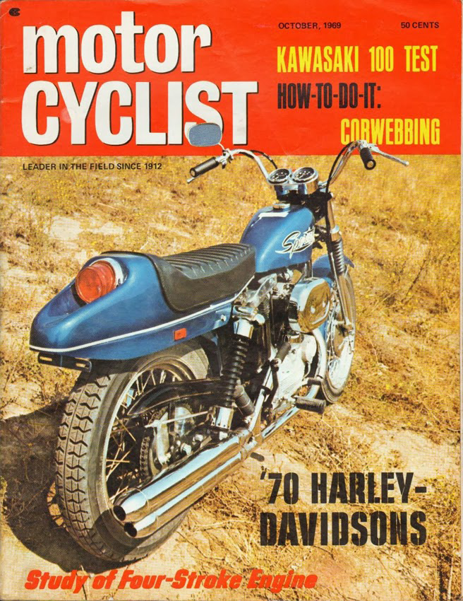1969-oct - MotorCyclist - Sportster