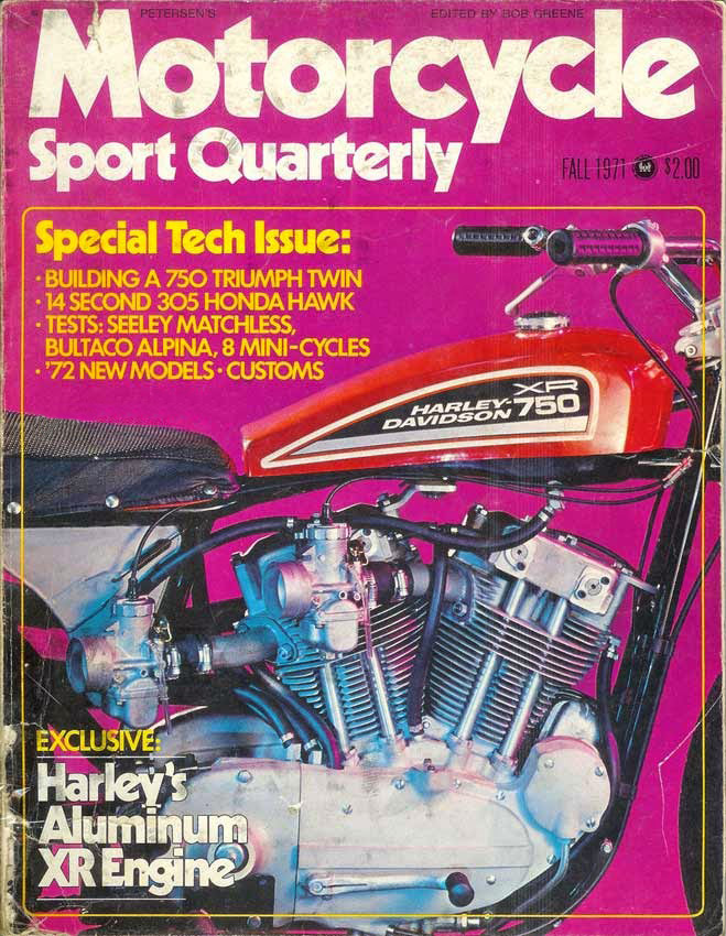 1971-fall - MotorCycle - XR 750