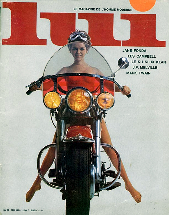 1968-may - LUI - Electra Glide