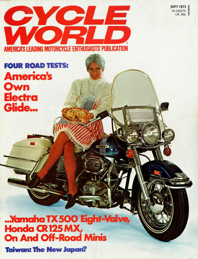 1973-sep - Cycle World - Electra Glide