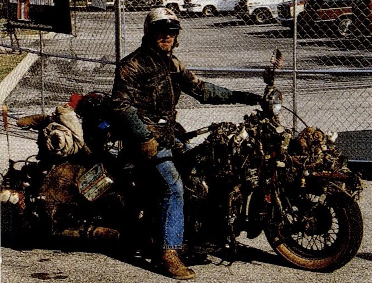 Harley-Davidson rat - lado derecho