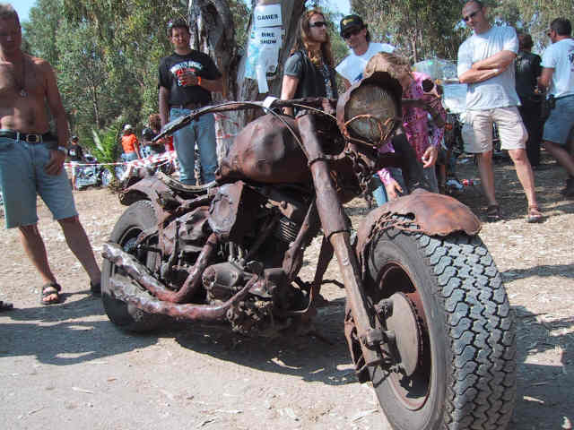 Rat con motor Shovelhead