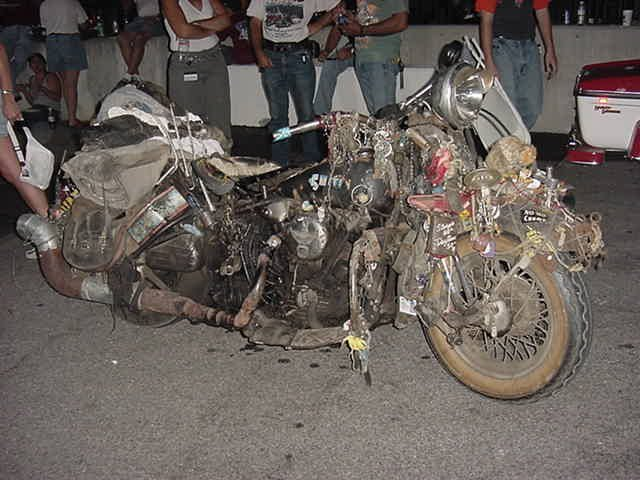 Rat con motor Knucklehead