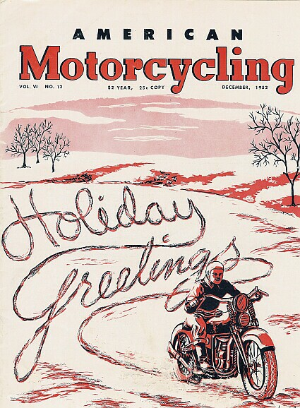 American Motorcycling - Dic-1952