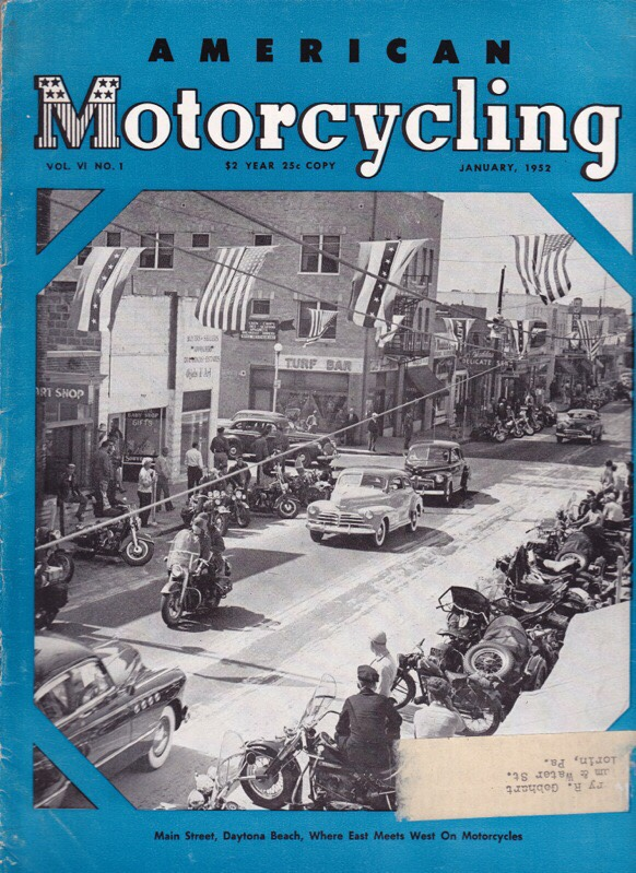 American Motorcycling - Ene-1952