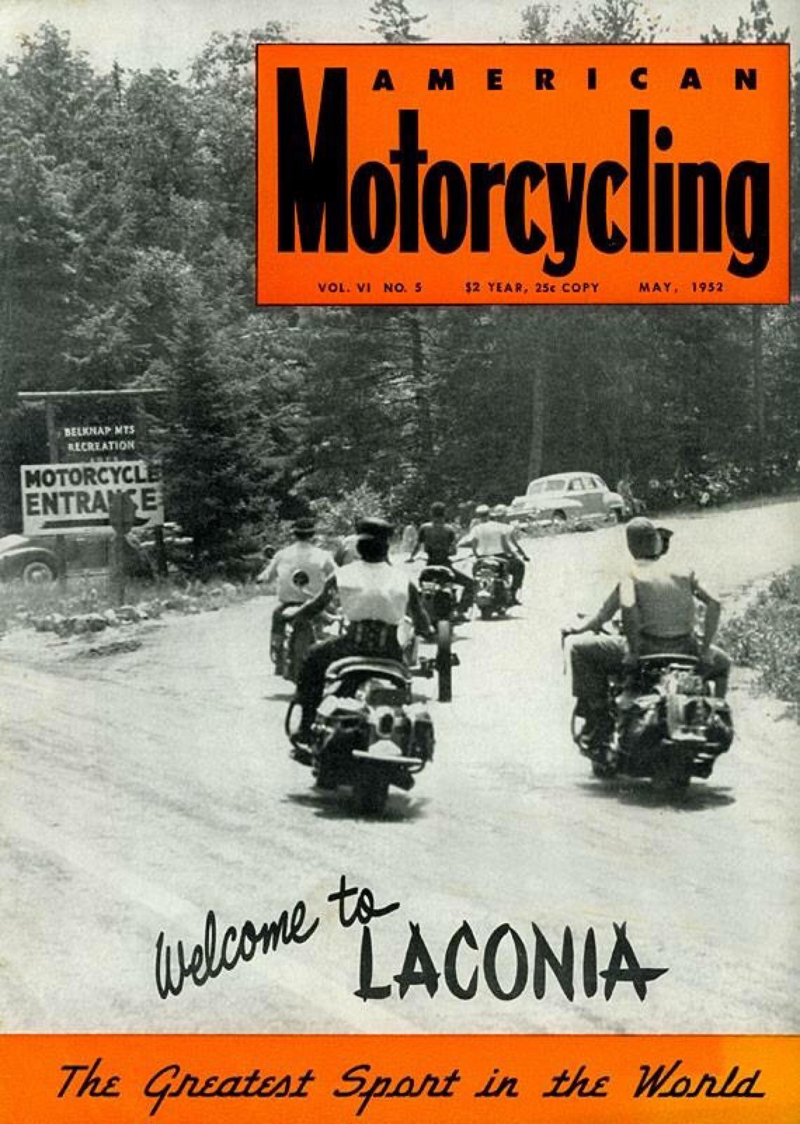 American Motorcycling - May-1952