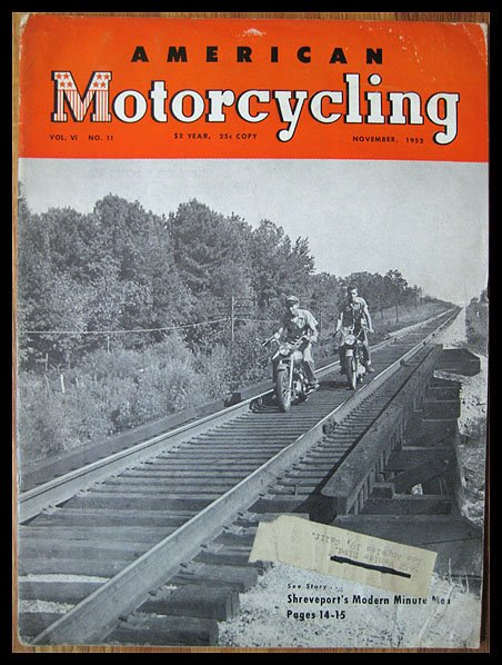 American Motorcycling - Nov-1952