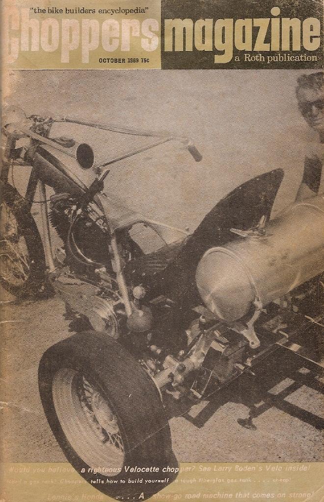 Chopper Magazine 1969 octubre