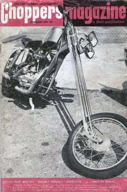 Chopper Magazine 1970 febrero