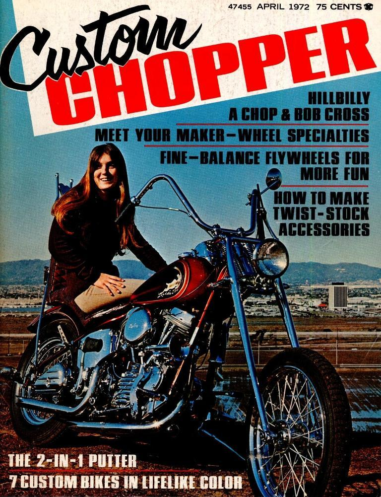 Custom Chopper - 1972 abril