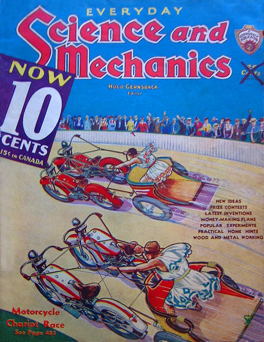 Revista Science and Mechanics de sep-1934
