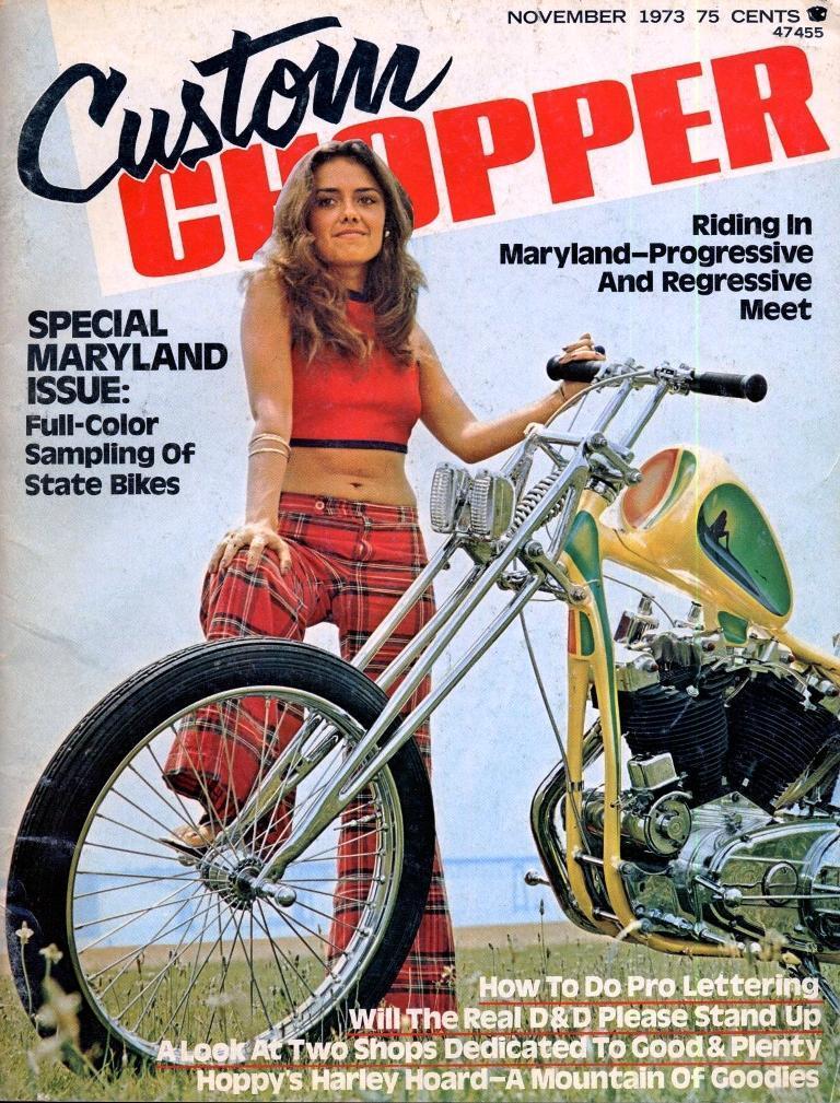 Custom Chopper - 1973 noviembre